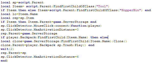 Roblox Code
